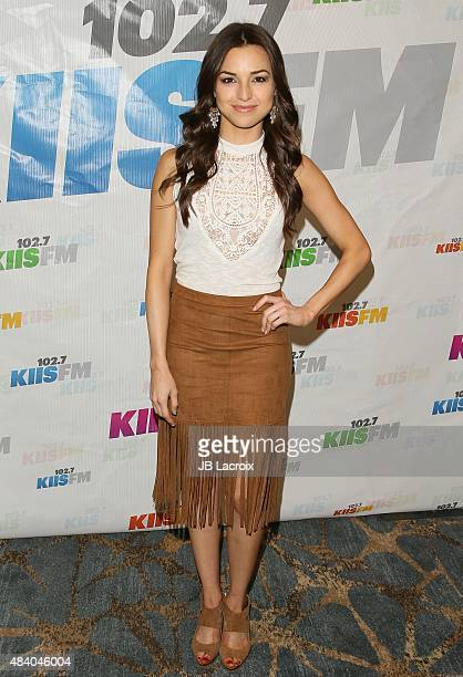 Jessica Meraz attends the KIIS FM's Annual Teen Choice preparty at the W Westwood on August 14 2015 in Westwood California