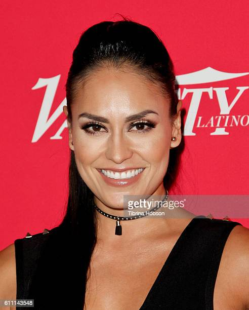 Jessica Meza attends Variety's 10 Latinos To Watch Event at The London West Hollywood on September 28 2016 in West Hollywood California
