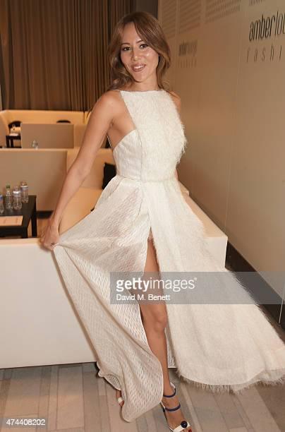 Jessica Michibata attends the Amber Lounge 2015 Gala at Le Meridien Beach Plaza Hotel on May 22 2015 in Monaco Monaco