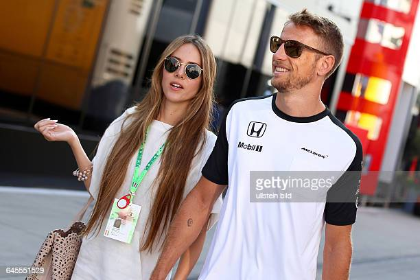 Jessica Michibata Girlfriend Jenson Button Jenson Button McLaren Honda formula 1 GP Ungarn in Budapest