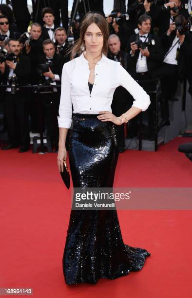 Jessica Miller attends the Premiere of 'Le Passe' during The 66th Annual Cannes Film Festival at Palais des Festivals on May 17 2013 in Cannes France