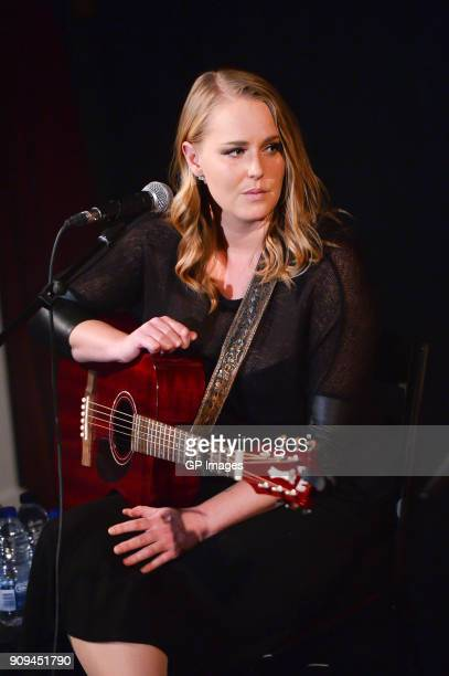 Jessica Mitchell performs at the CMA Songwriters Series held at the Great Hall on January 23 2018 in Toronto Canada