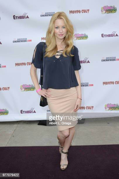 Jessica Morris arrives for the 2018 Etheria Film Night held at the Egyptian Theatre on June 16 2018 in Hollywood California