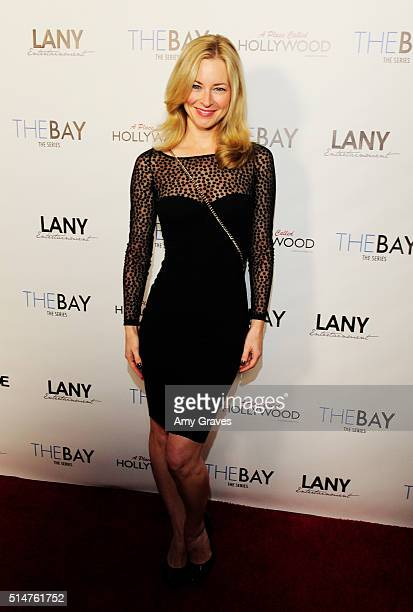 Jessica Morris attends the 5th Annual LANY Entertainment Mixer at St Felix on March 10 2016 in Hollywood California