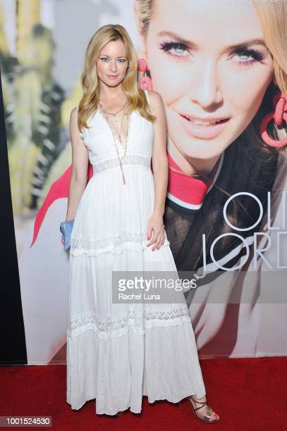 Jessica Morris attends the GENLUX Fashion And Philanthropy Magazine Issue Release Party hosted by actress/model Olivia Jordan at SUR Lounge on July...