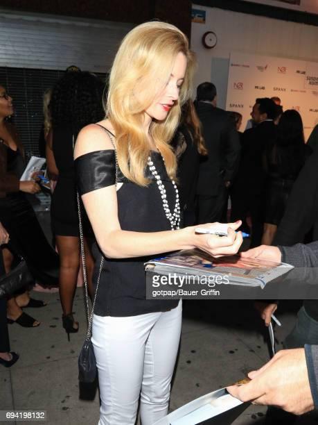 Jessica Morris is seen on June 08 2017 in Los Angeles California