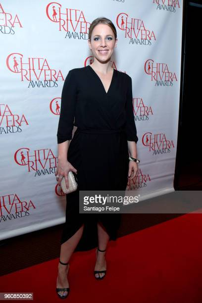 Jessica Mueller attends 2018 Chita Rivera Awards at NYU Skirball Center on May 20 2018 in New York City