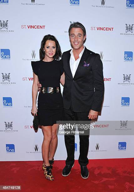 Jessica Mulroney and Ben Mulroney attends Hudson's Bay Celebrates St Vincent After Party at Patria during the 2014 Toronto International Film...