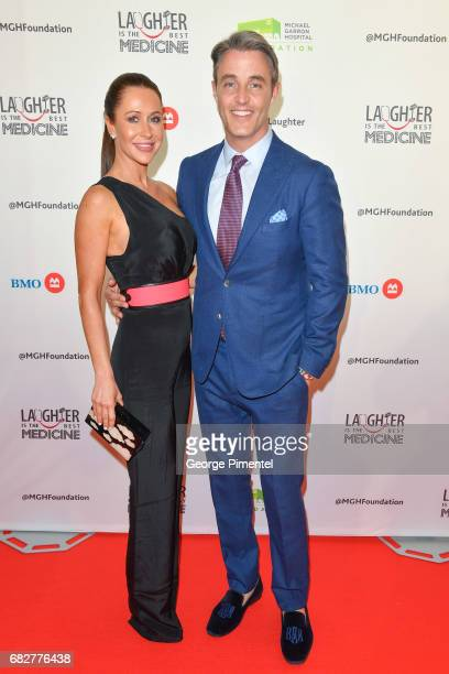 Jessica Mulroney and TV Personality Ben Mulroney attend Laughter Is The Best Medicine III Gala at Beanfield Centre Exhibition Place on May 13 2017 in...