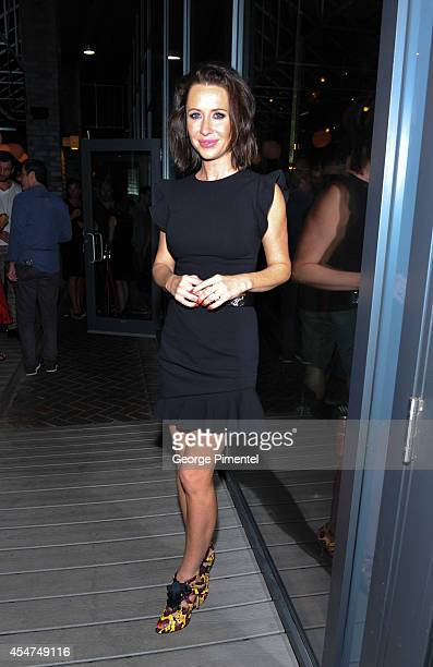 Jessica Mulroney attends Hudson's Bay Celebrates St Vincent After Party at Patria during the 2014 Toronto International Film Festival on September 5...