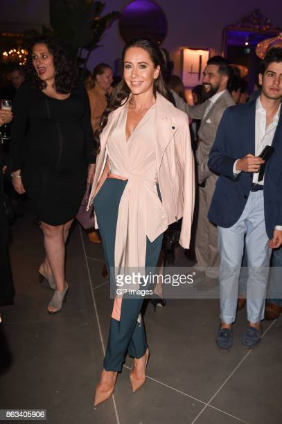 Jessica Mulroney attends the opening celebration of RH Restoration Hardware The Unveiling Of RH Toronto The Gallery At Yorkdale Shopping Center on...