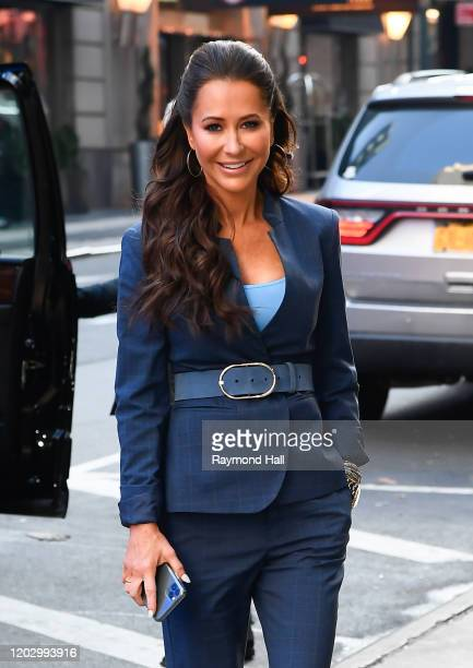 Jessica Mulroney is seen entering Good Morning America on February 24 2020 in New York City