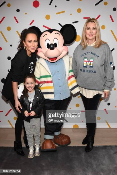 Jessica Mulroney Ivy Mulroney Mickey Mouse and Alison Coville attend Hudson's Bay welcomes everyone's favorite pal Mickey Mouse To Queen Street Store...