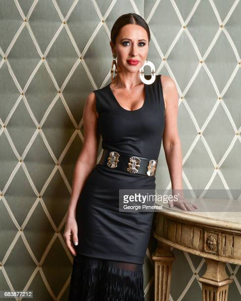 Jessica Mulroney poses in the 2017 Canadian Arts And Fashion Awards Portrait Studio at the Fairmont Royal York Hotel on April 7 2017 in Toronto Canada