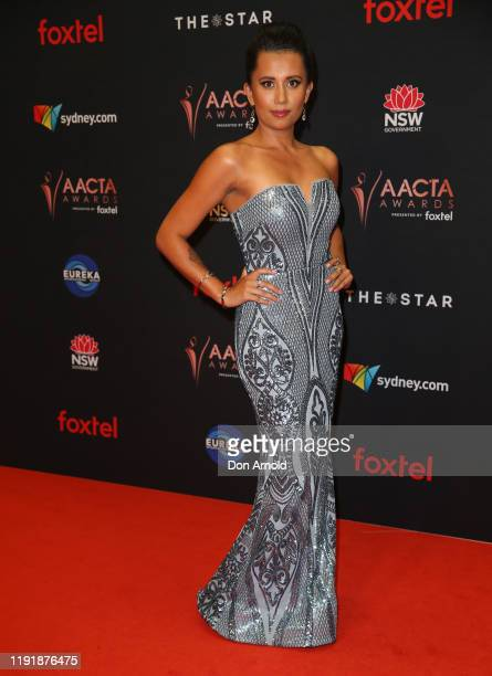 Jessica Navine attends the 2019 AACTA Awards Presented by Foxtel at The Star on December 04 2019 in Sydney Australia