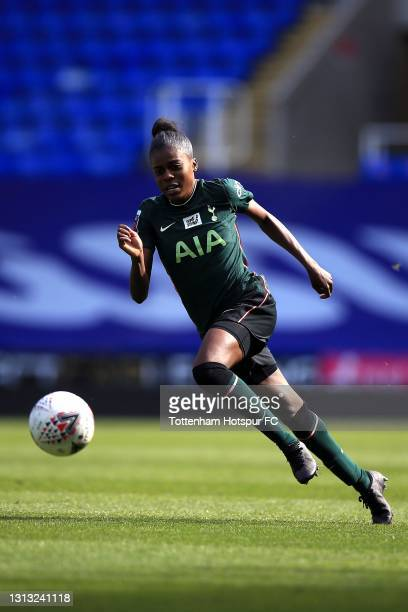 Jessica Naz of Tottenham Hotspur during the Vitality Women's FA Cup Fourth Round match between Reading Women and Tottenham Hotspur Women at Madejski...