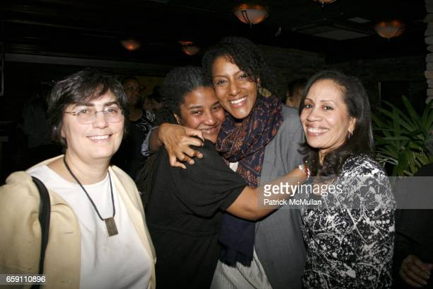 Jessica Neuwirth Lynn Nottage Sarah Jones and Taina BienAimÈ attend Benefit Performance for EQUALITY NOW RUINED at NY City Center Stage 1 on April 7...