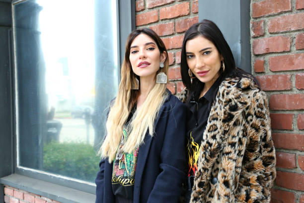 """CA: The Veronicas Visit Evertalk TV's """"Sippin The Tea"""" With WWE Alum Ariane Andrew And Host Matthew Dillon"""
