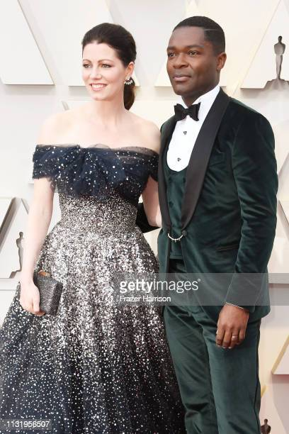 Jessica Oyelowo and David Oyelowo attend the 91st Annual Academy Awards at Hollywood and Highland on February 24 2019 in Hollywood California
