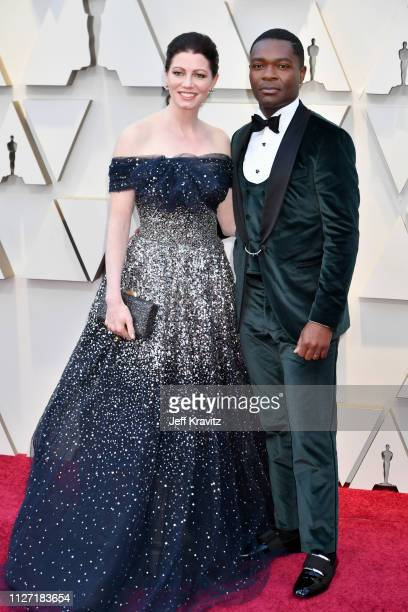 Jessica Oyelowo and David Oyelowo attends the 91st Annual Academy Awards at Hollywood and Highland on February 24 2019 in Hollywood California