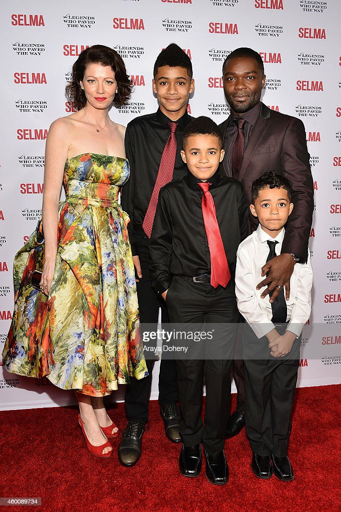 Jessica Oyelowo, David Oyelowo and their children attend ...