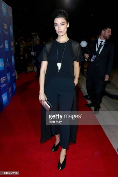 Jessica Paré attends the 29th Annual Palm Springs International Film Festival Awards Gala at Palm Springs Convention Center on January 2 2018 in Palm...