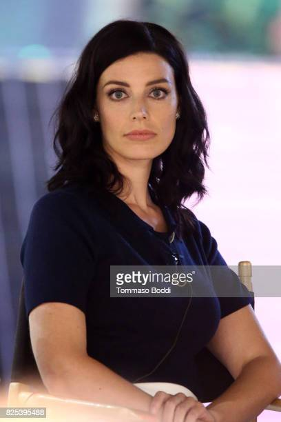 Jessica Pare attends the 2017 Summer TCA Tour CBS Panels at Various Locations on August 1 2017 in Los Angeles California