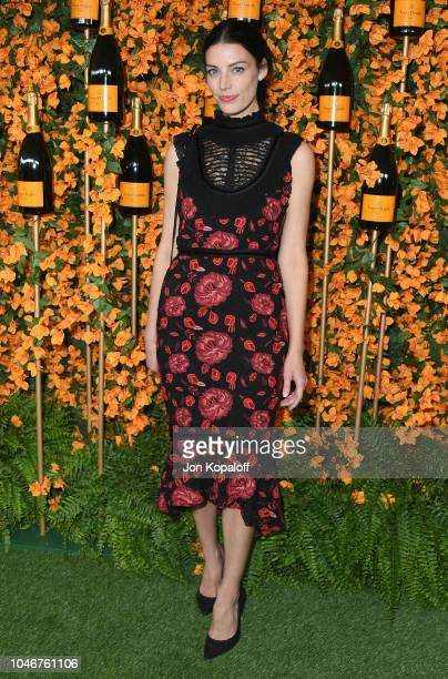 Jessica Pare attends the 9th Annual Veuve Clicquot Polo Classic Los Angeles at Will Rogers State Historic Park on October 6 2018 in Pacific Palisades...