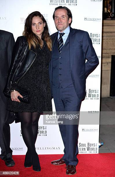 Jessica Parker and Ben Miller attend the World Premiere of Soul Boys Of The Western World at Royal Albert Hall on September 30 2014 in London England