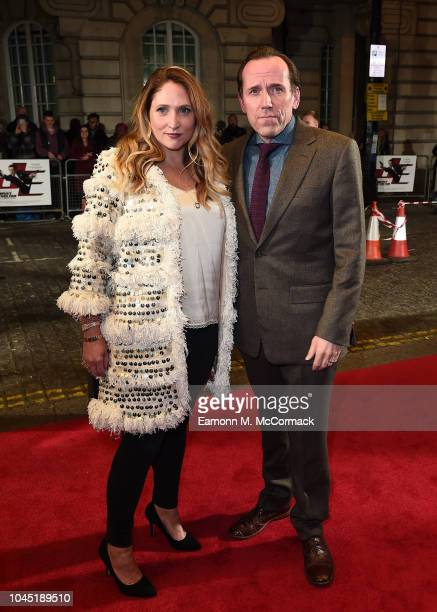 Jessica Parker and Ben Miller attends Special Screening of Johnny English Strikes Again at The Curzon Mayfair on October 3 2018 in London England