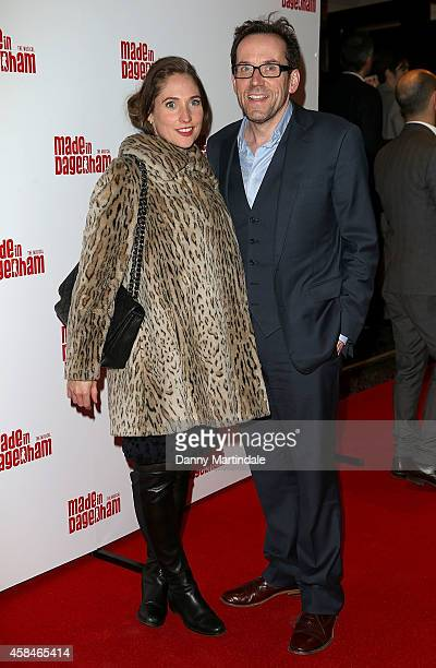 Jessica Parker and Ben Miller attends the Made In Dagenham press night at Adelphi Theatre on November 5 2014 in London England