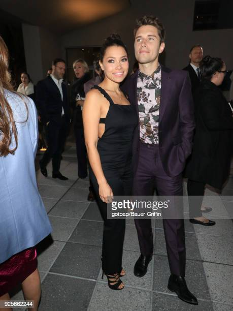 Jessica Parker Kennedy and Ronen Rubinstein are seen on February 28 2018 in Los Angeles California
