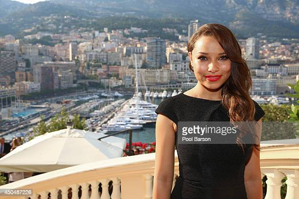 Jessica Parker Kennedy attends a Cocktail Reception at the Ministere d'etat on June 9 2014 in MonteCarlo Monaco