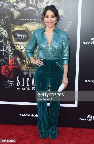 Jessica Parker Kennedy attends Columbia Pictures' 'Sicario Day Of The Soldado' Premiere at Westwood Regency Theater on June 26 2018 in Los Angeles...