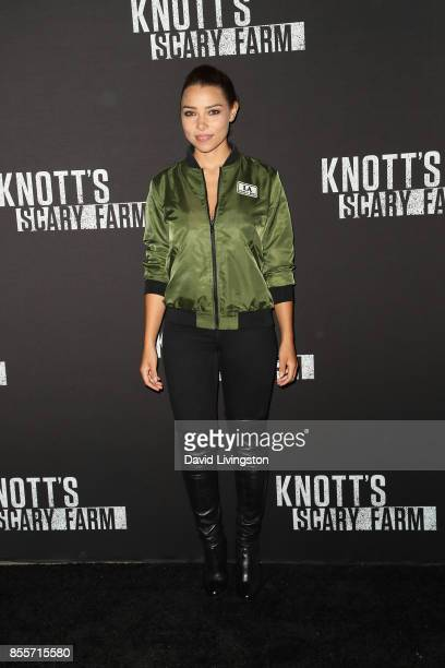 Jessica Parker Kennedy attends the Knott's Scary Farm and Instagram's Celebrity Night at Knott's Berry Farm on September 29 2017 in Buena Park...
