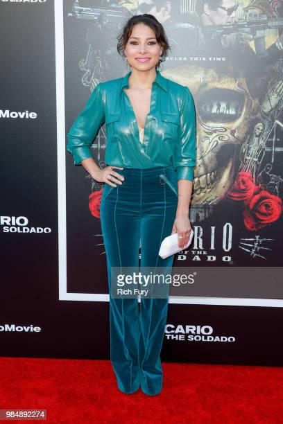 Jessica Parker Kennedy attends the premiere of Columbia Pictures' 'Sicario Day Of The Soldado' at Regency Village Theatre on June 26 2018 in Westwood...