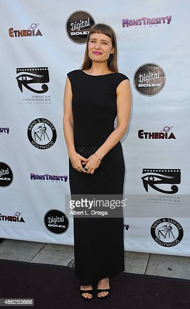 Jessica Parsons arrives for the Etheria Film Night 2015 held at American Cinematheque's Egyptian Theatre on June 13, 2015 in Hollywood, California.