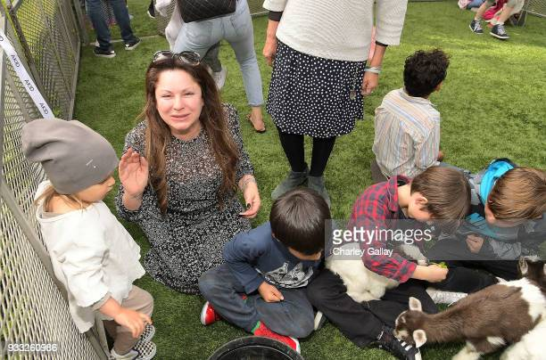 Jessica Paster attends AKID Brand's 3rd Annual 'The Egg Hunt' at Lombardi House on March 17 2018 in Los Angeles California