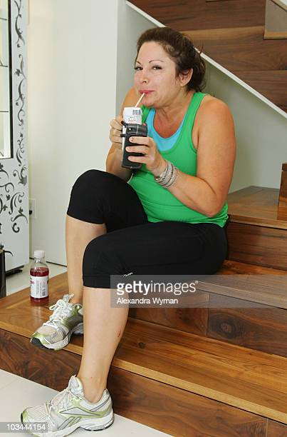 Jessica Pastor at The 1st Annual 'Muscle Milk Light' Women's Fitness Retreat held at A Private Residence on June 8 2010 in Beverly Hills California