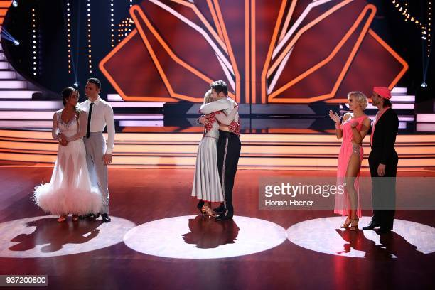 Jessica Paszka and Robert Beitsch Iris Mareike Steen and Christian Polanc and Chakall and Marta Arndt during the 2nd show of the 11th season of the...