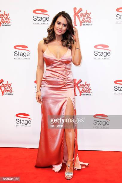 Jessica Paszka attends the 'Kinky Boots' Musical Premiere at Stage Operettenhaus on December 3 2017 in Hamburg Germany
