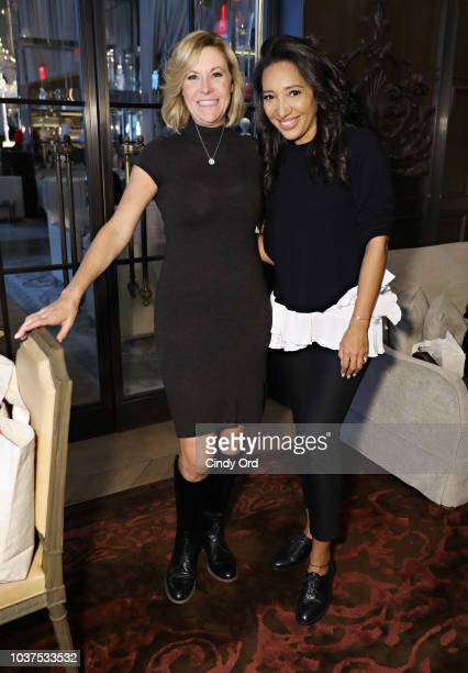 Jessica Perdomo Founder and CEO of JJ Gray poses for a photo during the JJ Gray Fall Presentation at Baccarat Hotel on September 21 2018 in New York...