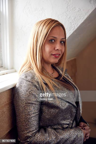 Jessica Perez from the film 'Crime and Punishment' poses for a portrait in the YouTube x Getty Images Portrait Studio at 2018 Sundance Film Festival...