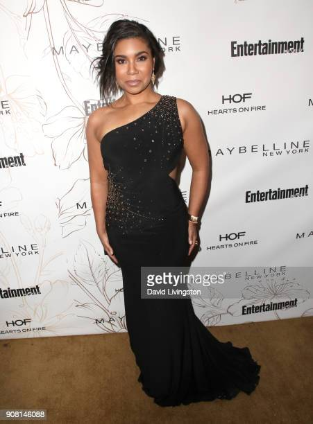 Jessica Pimentel attends Entertainment Weekly's Screen Actors Guild Award Nominees Celebration sponsored by Maybelline New York at Chateau Marmont on...