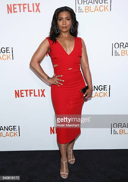 Jessica Pimentel attends 'Orange Is The New Black' New York City Premiere at SVA Theater on June 16 2016 in New York City