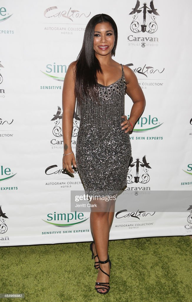 Jessica Pimentel attends the Simple Skincare & Caravan Stylist Studio Fashion Week Event on September 7, 2014 in New York City.