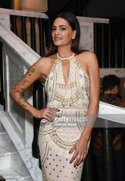 Jessica Pires attends The 9th Annual Global Gift Gala held at The Rosewood Hotel on November 2, 2018 in London, England.
