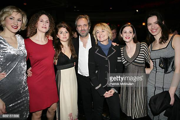 Jessica Pollert Smith Hannah Stokely Charlotte Parry Sam Mendes Sinead Cusack Morven Christie and Rebecca Hall attend BAM and The Old Vic host The...