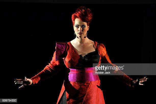 Jessica Pratt as Armida in Garsington Opera's production of Gioacchino Rossini's Armida directed by Martin Duncan and conducted by David Parry at...
