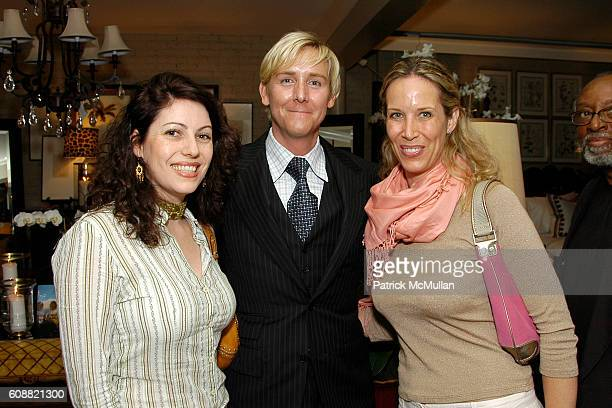 Jessica Pressler Barclay Butera and Lori Dennis attend Barclay Butera and Elle Decor Event at Barclay Butera on October 30 2007 in Los Angeles CA